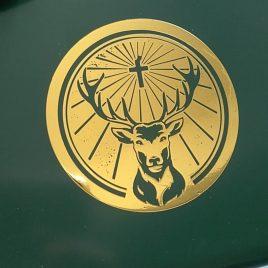 Jaegermeister Logo - Metalic Gold